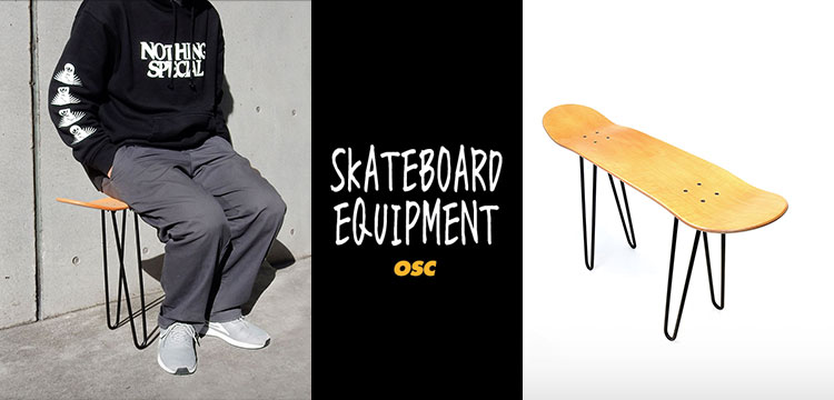 OSC SKATEBOARD EQUIPMENT